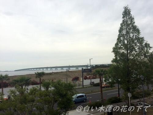 関空アウトレットパークから観た景色