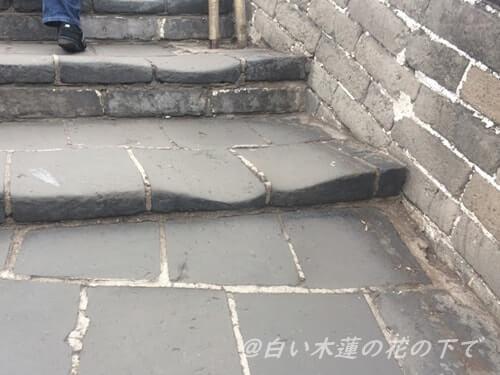 凸凹道と階段