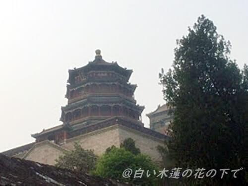 頤和園のシンボル「仏香閣(ぶっこうかく)
