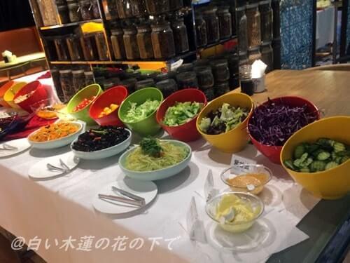 北京5L飯店の朝食バイキング