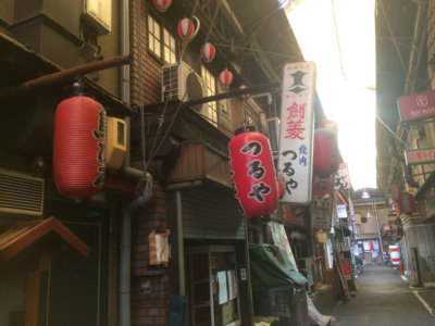 天王寺の商店街
