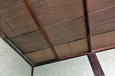 和室の天井(リフォーム前)